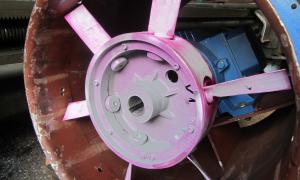 Riparazione dei riduttori e ventilatori
